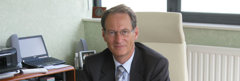 Thierry Lugbull, directeur du Centre Hospitalier Mémorial de Saint-Lô (Manche)