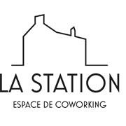 Logo espace de coworking la station